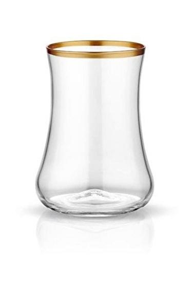 Koleksiyon Dervish Çay Bardak Altın 6 Lı Renkli